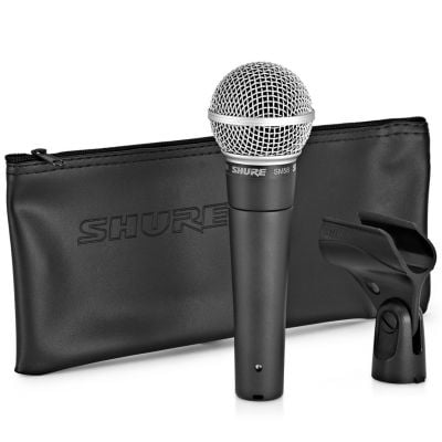 Shure SM58 - Microfono Dinamico Cardioide Professionale per Voce
