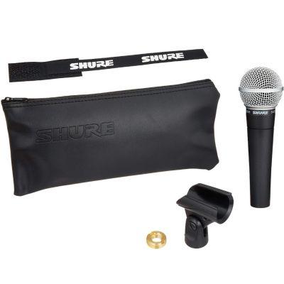 SHURE SM58 Microfono Dinamico, supporto e custodia