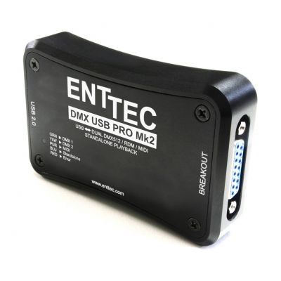 ENTTEC DMX USB PRO MKII - Interfaccia DMX USB
