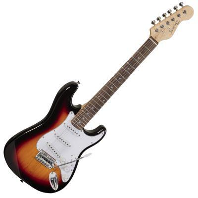 Soundsation Chitarra Elettrica 3/4 Tipo Stratocaster 3T Sunburst