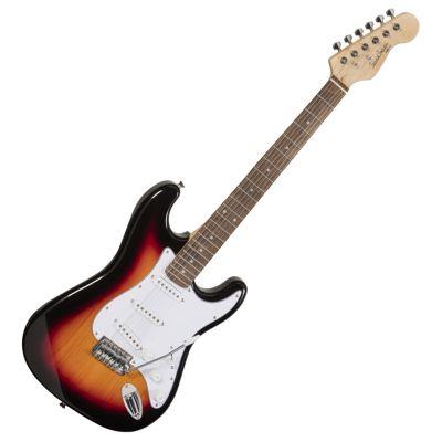 Soundsation Chitarra Elettrica Tipo Stratocaster 3T Sunburst