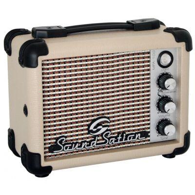 Soundsation MPA10G Mini Amplificatore Portatile per Chitarra Elettrica 5W