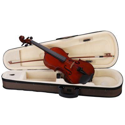 Violino 1/8 Set Completo: Astuccio, Archetto, Colofonia, tracolle e corde