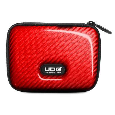 UDG U8451RD Creator DIGI Hardcase Small Red PU - Custodia Chiavette Usb