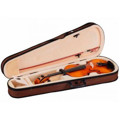 Violino Primo 1/4 Set Completo: Astuccio, Archetto, Colofonia, tracolle e corde