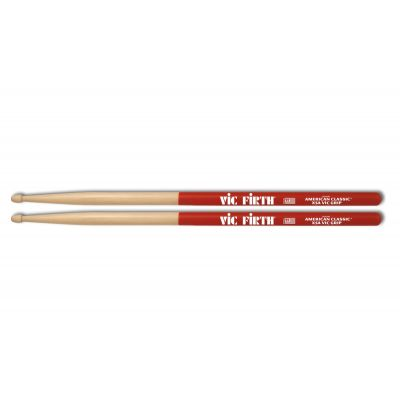 VIC FIRTH X5AVG - Bacchette American Classic Vic Grip Hickory Punta in Legno Extreme