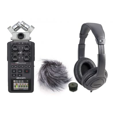ZOOM H6 Kit Registratore Multitraccia / Cuffie / Accessori