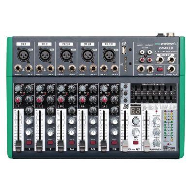 ZZIPP ZZMXE8 Mixer 8 Canali con DSP