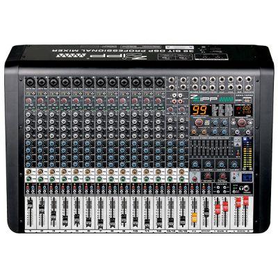 ZZIPP ZZMX16PRO Mixer Audio Professionale DJ e Karaoke 16 Canali con Multieffetto DSP
