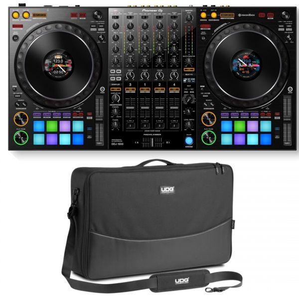 Pioneer DDJ 1000 Pack - Controller per Rekordbox DJ con Borsa