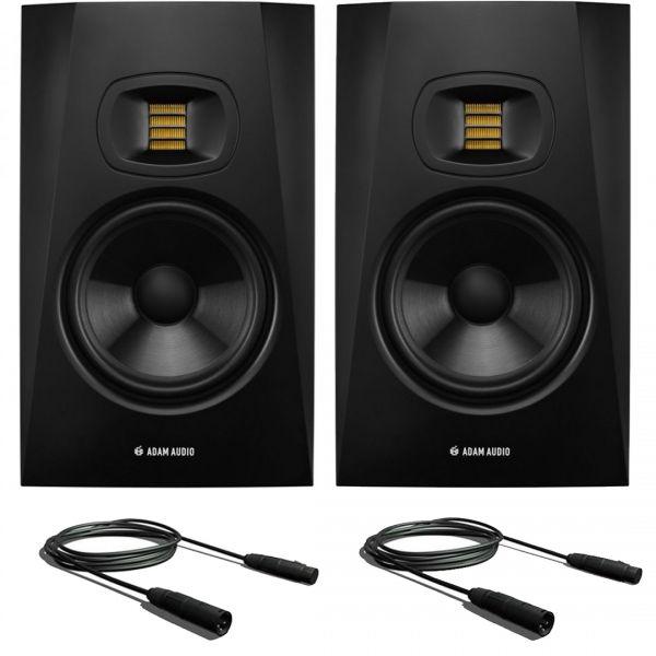 Adam T7V (Coppia) Studio Monitor Diffusori DJ con Cavi