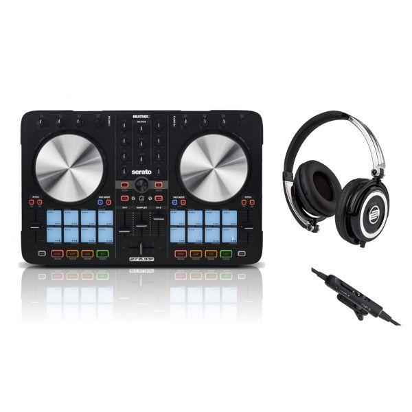 RELOOP BeatMix 2 MKII Controller per Serato DJ con RHP5 Cuffia per DJ