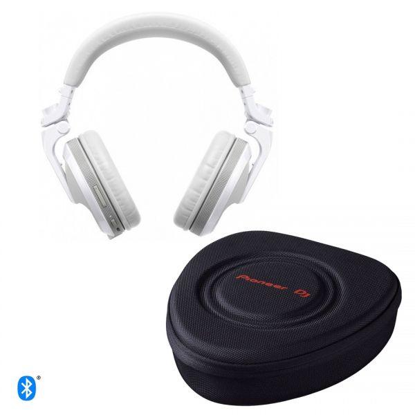 Pioneer HDJ-X5BT-W - Cuffie Dj Bluetooth Professionali con Custodia Omaggio