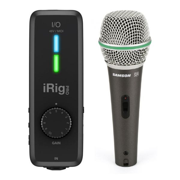 IK Multimedia iRig Pro I/O con Microfono