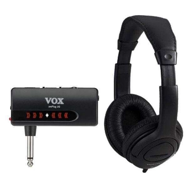 Vox Amplug I/O Bundle - Interfaccia per Chitarra con Cuffia