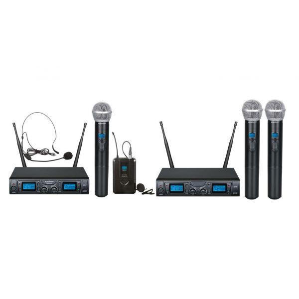 ZZIPP TXZZ620/622 (Coppia) Wireless Radio microfono Doppio karaoke dj teatro