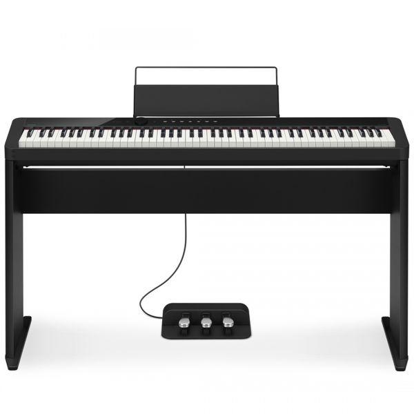 Casio Privia PX S1000 BK Set - Pianoforte Digitale 88 Tasti con Stand e Pedaliera