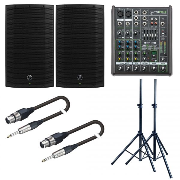Mackie Thump 12A Impianto Audio 2600W con Mixer per DJ Live Karaoke