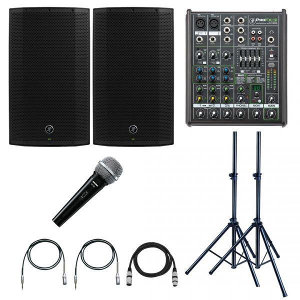 Mackie Thump 12A Impianto Audio Completo Karaoke e DJ