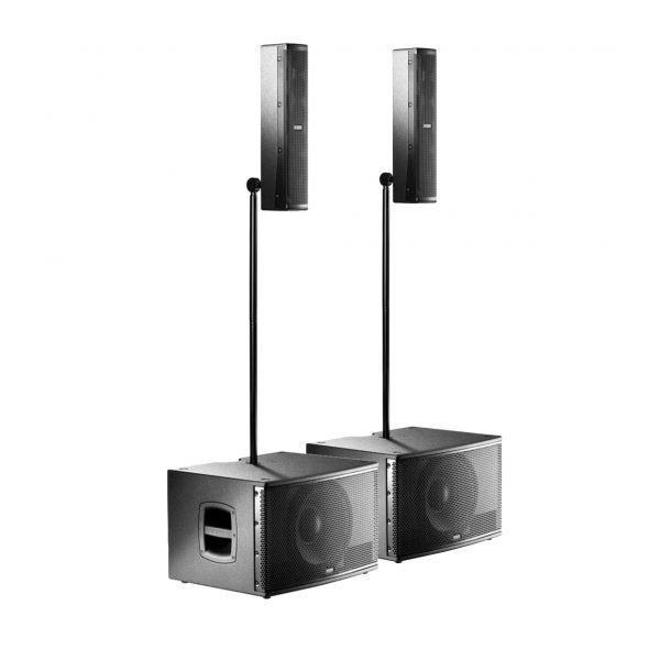 FBT CS1000 (Coppia) - Impianto Audio Line Array 2000W in RMS