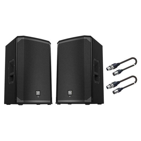 ELECTROVOICE Coppia EKX12P / Cavi Audio XLR/XLR Bundle