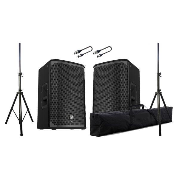 ELECTROVOICE Sistema Audio 2800W Coppia EKX12P / Stativi / Cavi Audio XLR/XLR Bundle