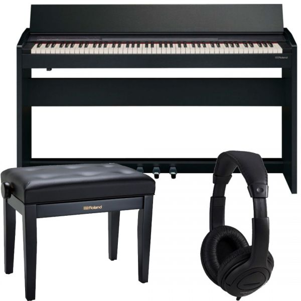 ROLAND F140R CB Pianoforte Digitale / Mobile / Cuffie / Panchetta
