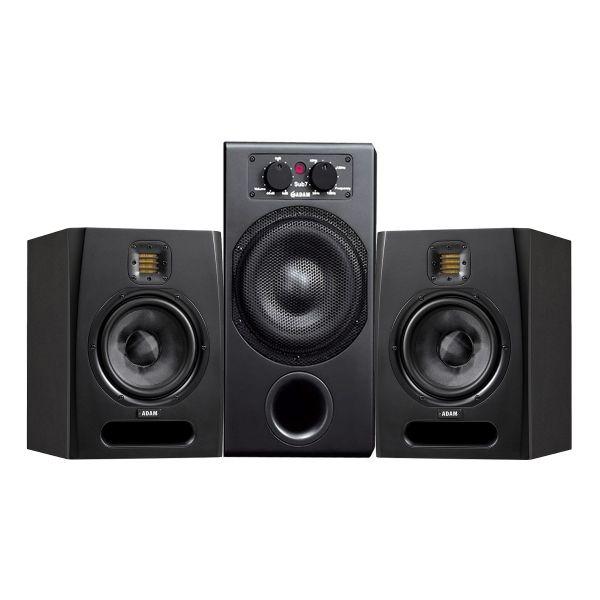 ADAM Sistema Audio per Studio Coppia Monitor Attive / Subwoofer 340W