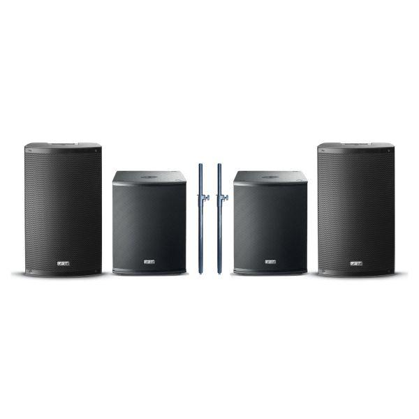 FBT X-3000 - Sistema Audio Completo 4400W