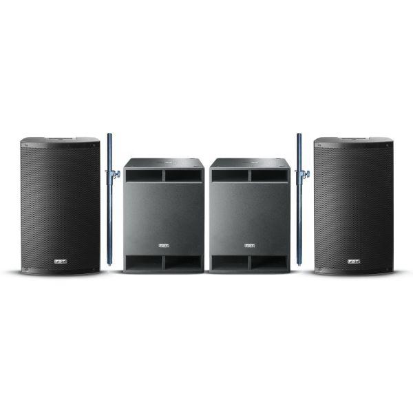 FBT X-5000 - Impianto Audio Completo 4400W
