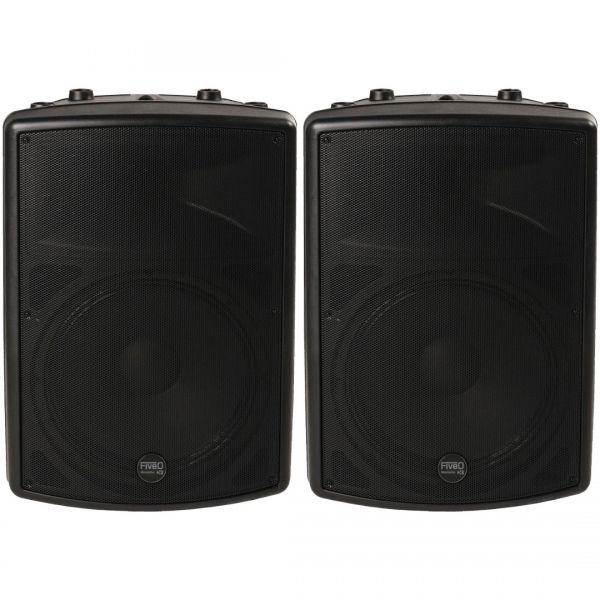 Montarbo FiveO D10A (Coppia) Impianto Audio DJ Casse Karaoke