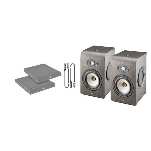 Focal Shape 65 Kit - Coppia Monitor con Cavi e Pannelli Fonoassorbenti