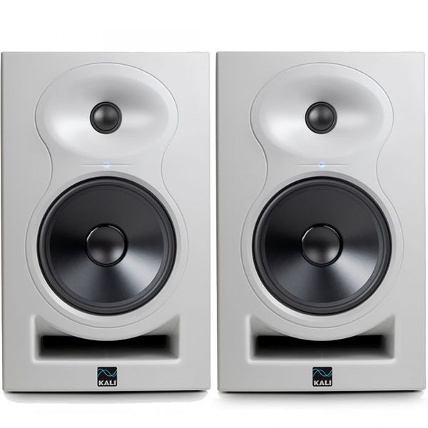 Kali Audio LP-6W Monitor da Studio Attivo 80W 6,5 Pollici White (Coppia)