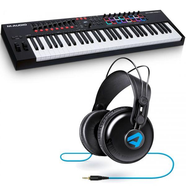 M-Audio Oxygen Pro 61 Bundle Controller MIDI USB 61 Tasti / Alesis SRP100 Cuffie
