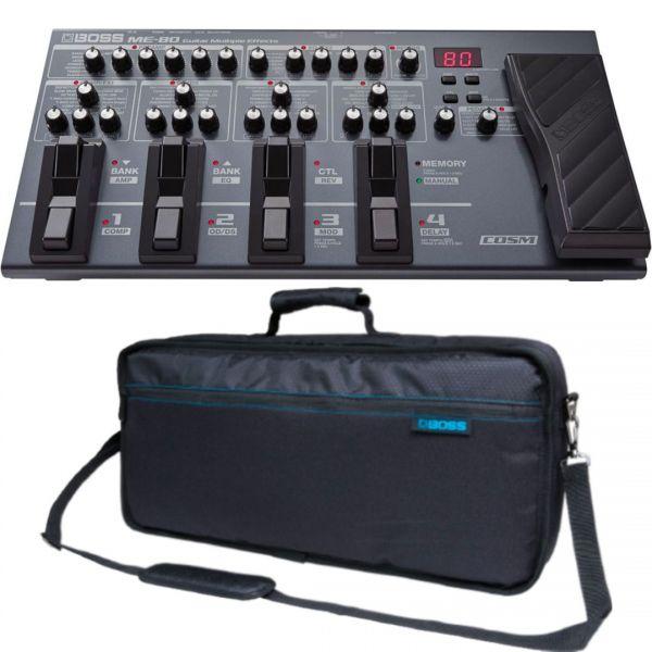 Boss ME80 Kit - Pedaliera Multieffetto con Borsa