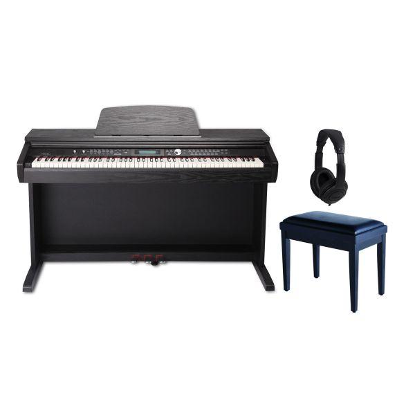 Medeli DP 330 Set - Pianoforte Digitale / Panchetta / Cuffie