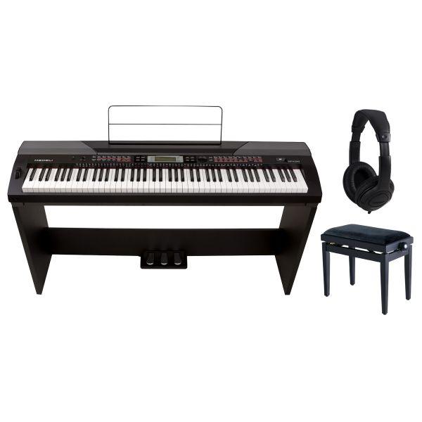 Medeli SP4200 Set - Stage Piano / Stand / Panchetta / Cuffie