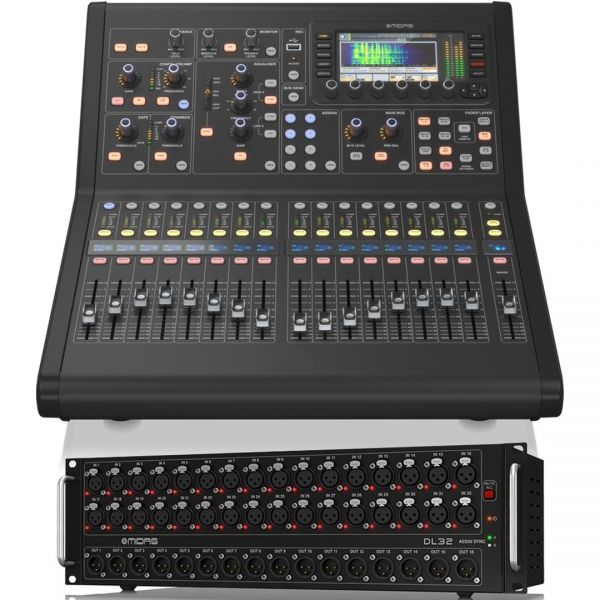 Midas M32R Live Mixer Digitale 32 Ch con Stage Box DL32