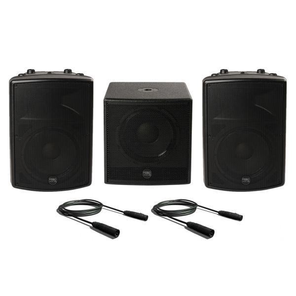 Montarbo FiveO D15A (Coppia) D15A Sub Impianto Audio DJ Completo Karaoke