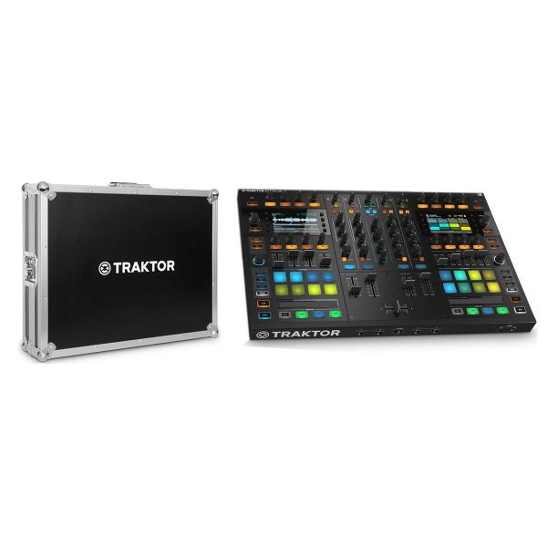 NATIVE INSTRUMENTS Set Traktor Kontrol S8 / Flight Case Bundle