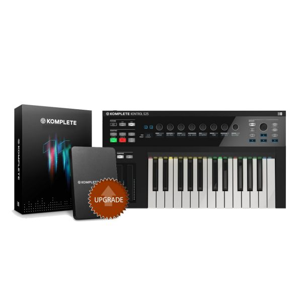 NATIVE INSTRUMENTS KOMPLETE KONTROL S25 / KOMPLETE 11 Upgrade da Select