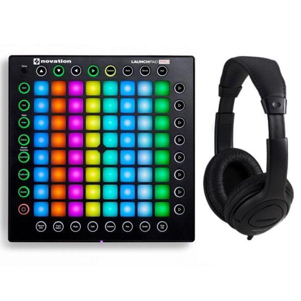 Novation DJ Pack Launchpad Pro / Cuffie Stereo