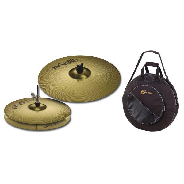 Paiste 101 Brass Essential Set con Borsa