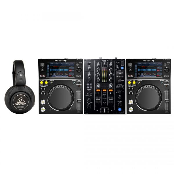 Pioneer XDJ 700 (Coppia) / DJM 450 / Cuffie