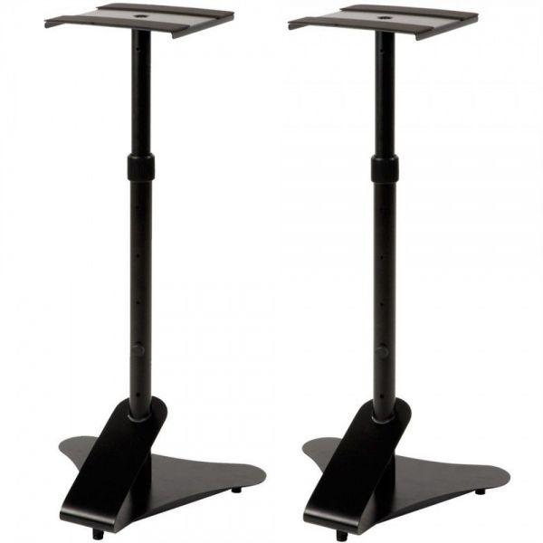 QUIKLOK BS402 (Coppia) - Supporti monitor Stand e Stativo piedistallo cassa acustica diffusori