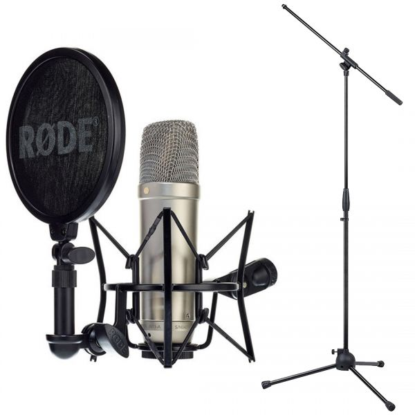Rode NT1A Complete Vocal Bundle e Asta Microfono