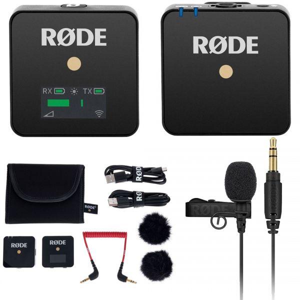 Rode Wireless GO Bundle Microfono Wireless con Lavalier GO