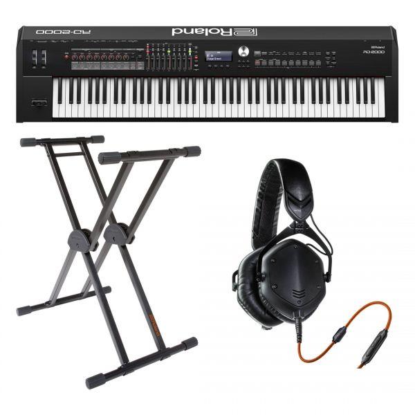 Roland RD2000 Home Set - Pianoforte da Palco / Supporto / Cuffie