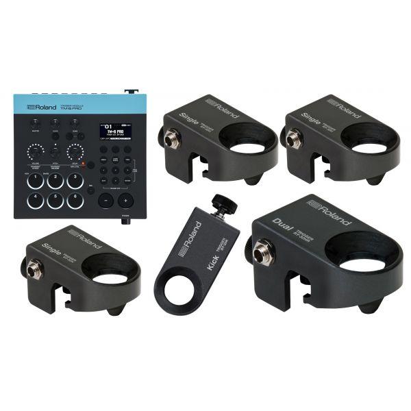 Roland TM 6 Pro Bundle - Kit Ibrido 5 Pezzi