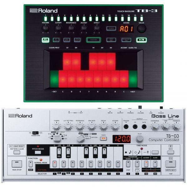 Roland TB03 con TB3 - Sintetizzatori Bass Line